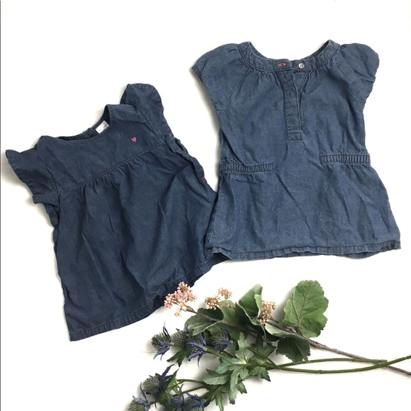 Carter's Other - Carter's Chambray Tunic Tops